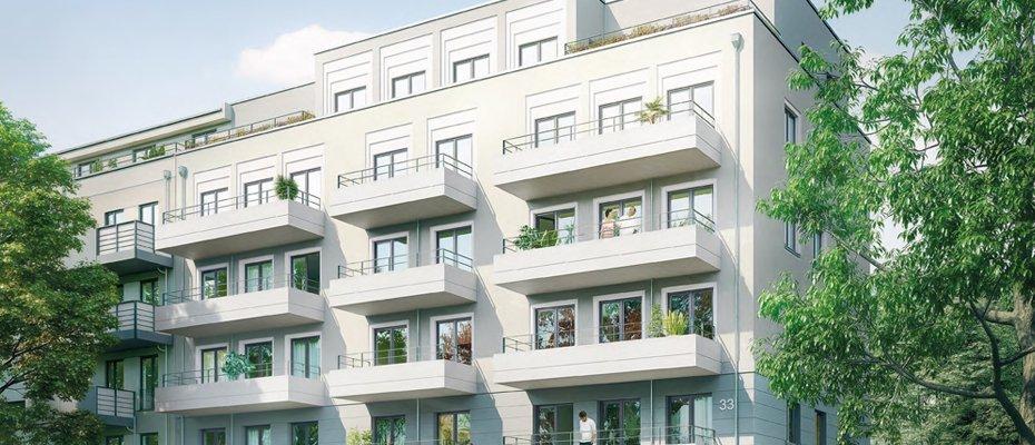 Neubauprojekt: Uhlandstraße 33 in Südvorstadt - Neubau von 18 Eigentumswohnungen