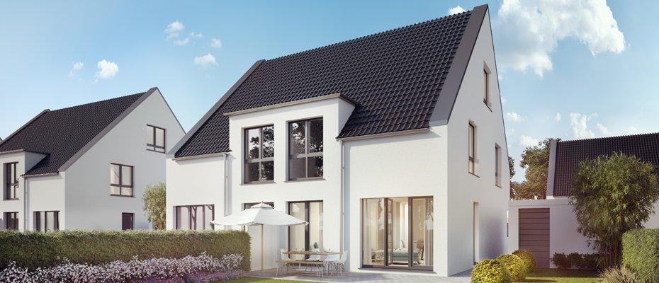 Neu in Kempen-St. Hubert: himmelblau - Neubau von 42 Doppelhaushälften