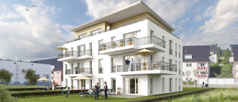 Großzügiger Wohnkomfort: Neubau Halver Quartier II - Neubau von 7 Eigentumswohnungen