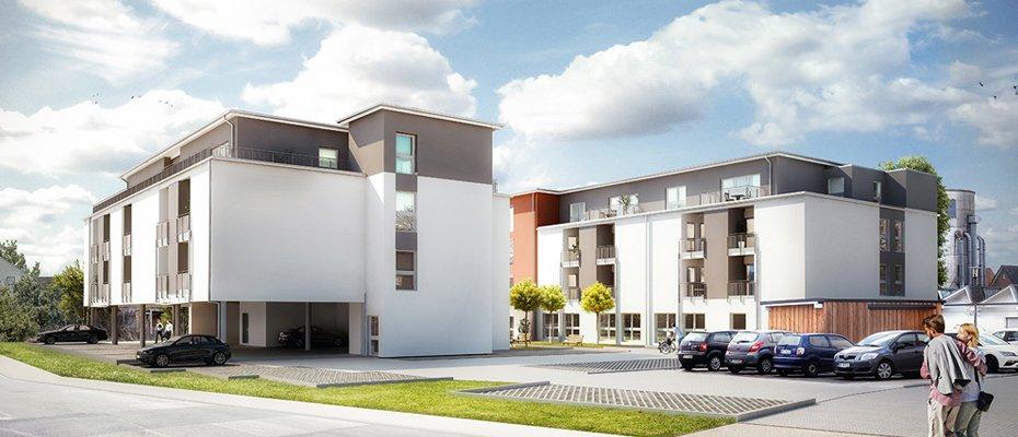 Neu für Kapitalanleger: Service-Wohnen Bünde - Neubau von 56 Servicewohnungen in 2 Gebäuden