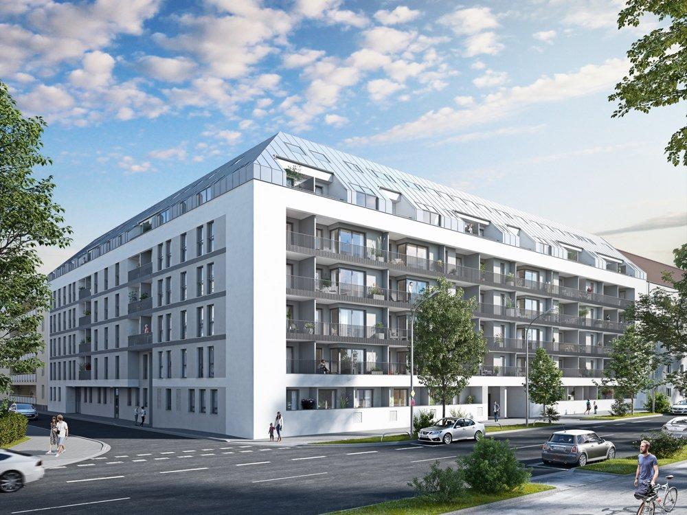 Bilder Neubauprojekt eins8eins in München