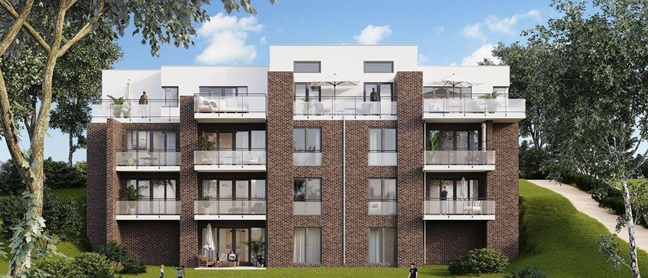 Neubauprojekt in Lemsahl-Mellingstedt: ALSTERTERRASSEN - Neubau von 10 Eigentumswohnungen
