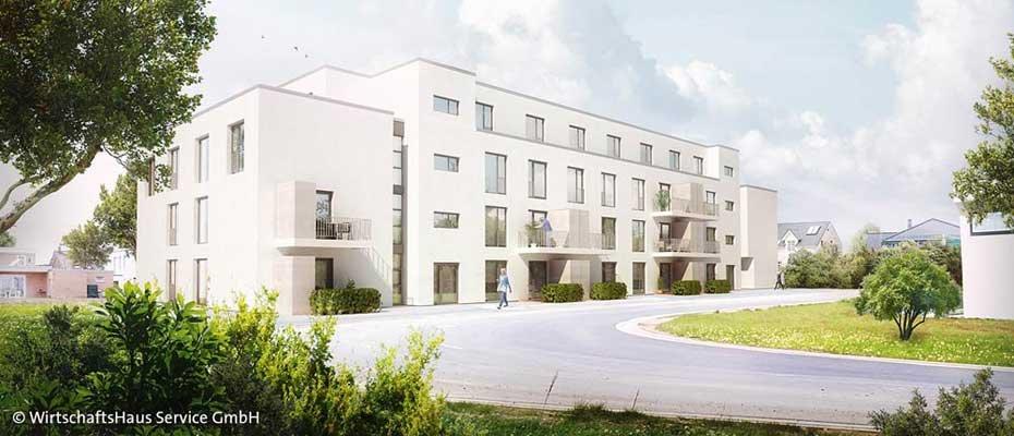 Neue Servicewohnungen: Seniorenzentrum Düren - Neubau von 56 Seniorenwohnungen