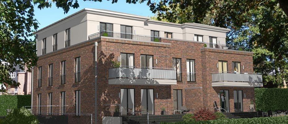Exklusiver Neubau: Höger-Haus Blankenese - Neubau von 5 Eigentumswohnungen