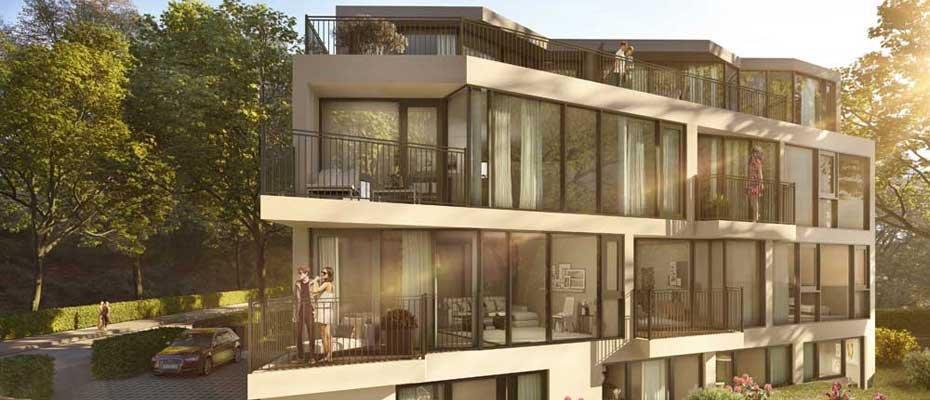 Neubau-Projekt: Flurterrassen - Neubau von 7 Eigentumswohnungen