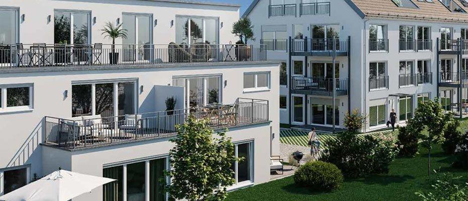 Neubau: CITY RESIDENZ Gersthofen - Neubau von 16 Eigentumswohnungen