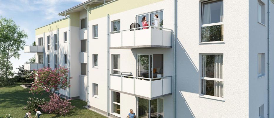 Neubauprojekt: FortunaPark Karlsdorf - Neubau von 13 Eigentumswohnungen