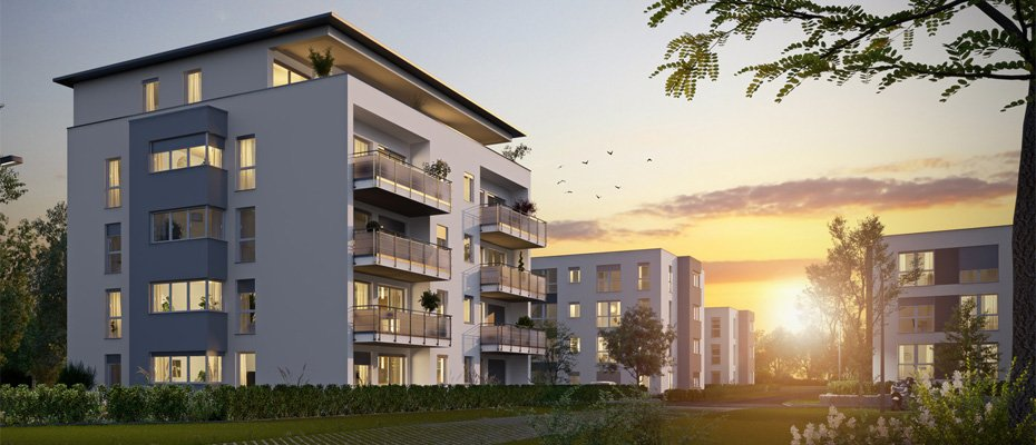 Neubau: SONNENFELD Sachsenheim - Neubau von 52 Eigentumswohnungen