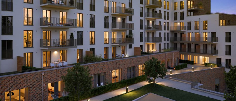 Neubauprojekt: Barmbeker Bogen – City Apartments - Neubau von 32 Apartments