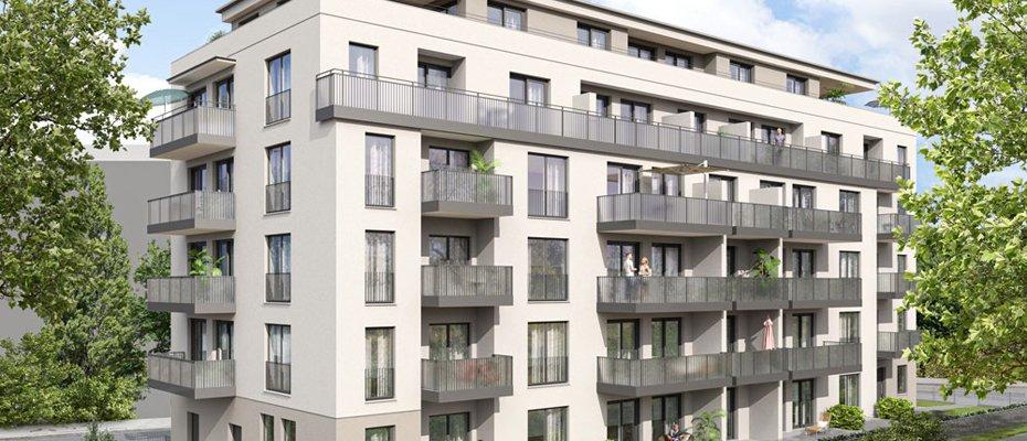 Neubauprojekt: Gutzkowstraße 32 in Südvorstadt - Neubau von 44 Eigentumswohnungen