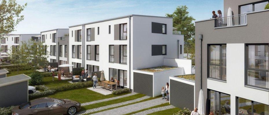 Wohnpark am Wiesental: familienfreundliche Reihenhäuser - Neubau von 74 Reihenhäusern
