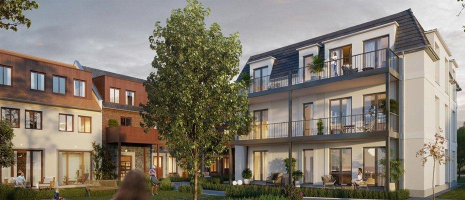 Neubauprojekt: Stadtgut Leipzig Seehausen - Neubau von 3 Eigentumswohnungen und 6 Einfamilienhäusern