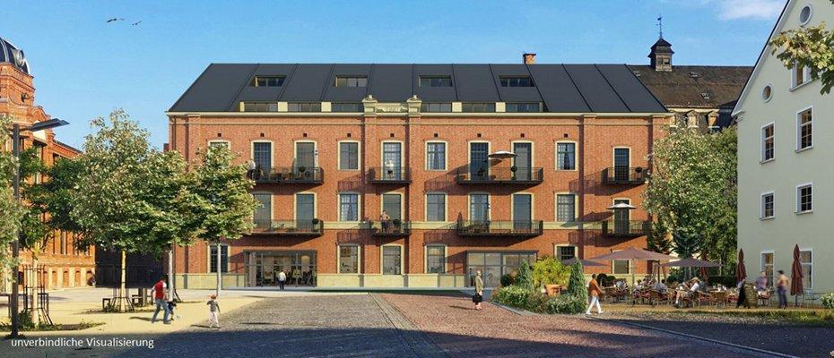 Stilvolles Industriedenkmal: Alte Baumwolle Flöha - Sanierung von 24 Eigentumswohnungen