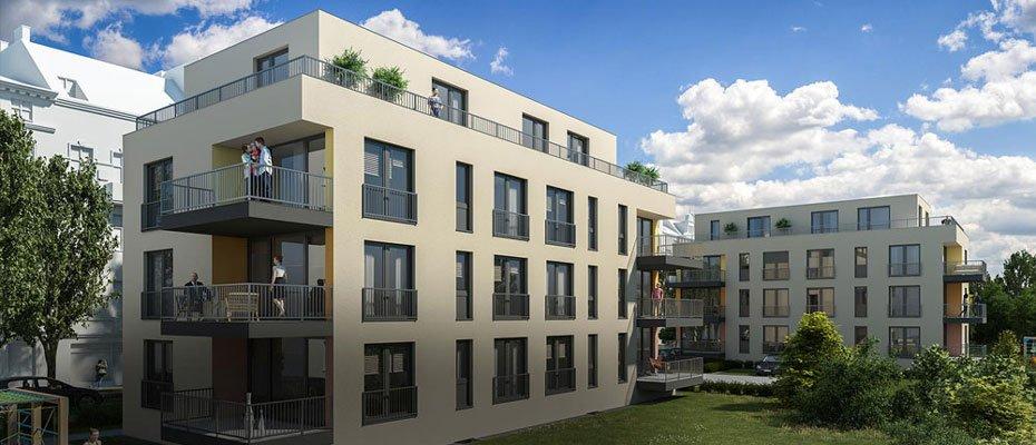 Neubau: Schliersee Hof in Grünau - Neubau von 14 Eigentumswohnungen