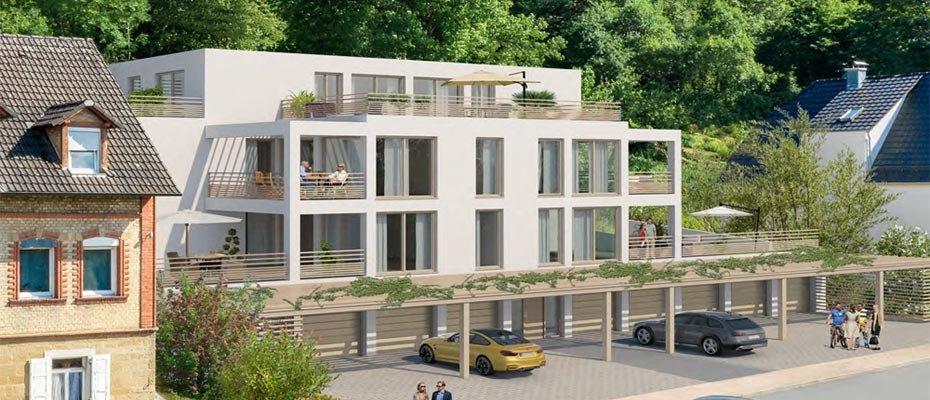 Neubau: Villa Pergola - Neubau von 9 Eigentumswohnungen