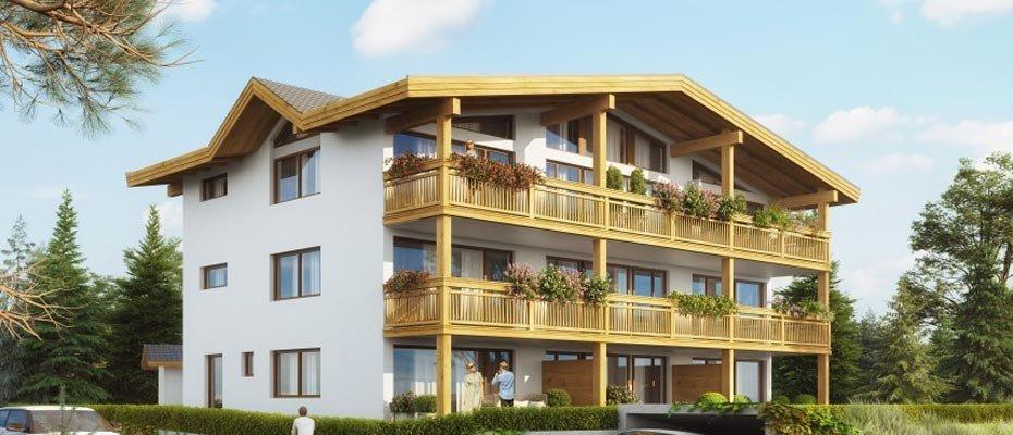 Neubau: Wettersteinstraße - Neubau von 9 Ferien-Apartments