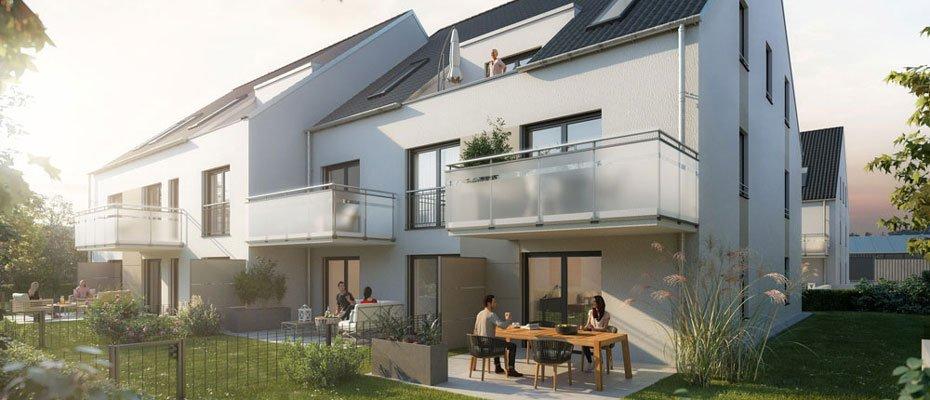 Ihr stadtnahes Zuhause in der Schoberstraße 14: Wohnkomfort in Ingolstadt - Neubau von 22 Eigentumswohnungen