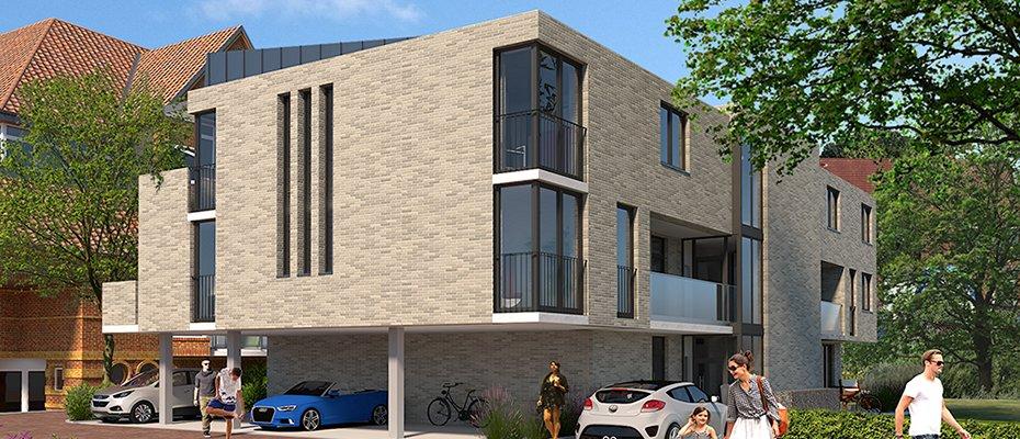 Gasstraße 6 in Eckernförde: elegante KfW 55-Eigentumswohnungen - Neubau von 9 Eigentumswohnungen