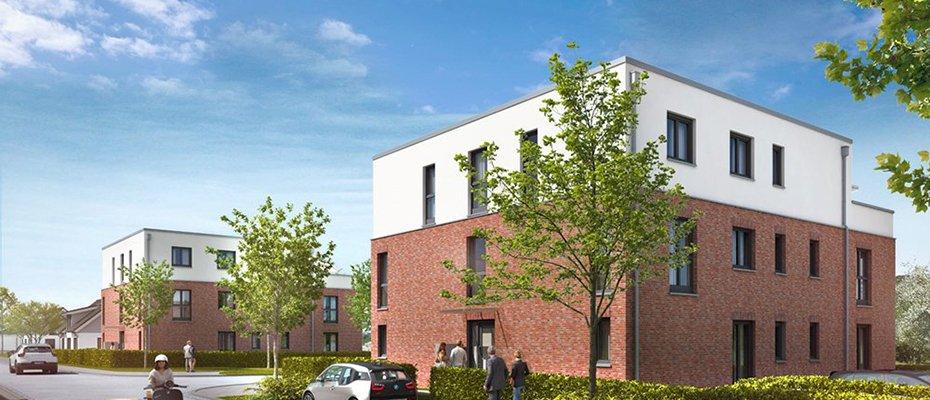 Neu in Lübeck: TraveBlick Rothebek - Neubau von 20 Eigentumswohnungen