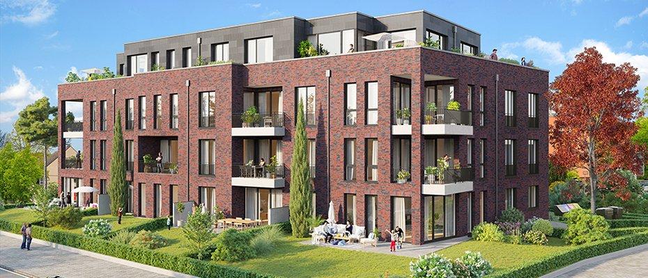 An der Lohe 9: hochwertiges Neubauprojekt zentral in Niendorf - Neubau von 19 Eigentumswohnungen