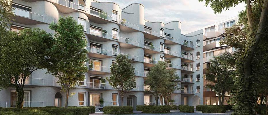 Der Schlüssel zum guten Leben in Berlin: VERT - Wohnen AM TACHELES - Neubau von 46 Eigentumswohnungen