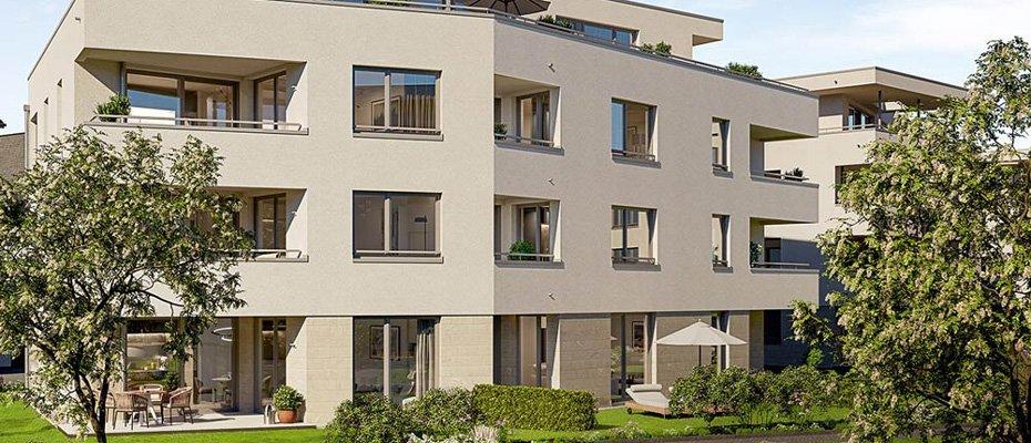 NEU: DAS ENSEMBLE Staufen - Wohnen in malerischem Ambiente - Neubau von 38 Eigentumswohnungen