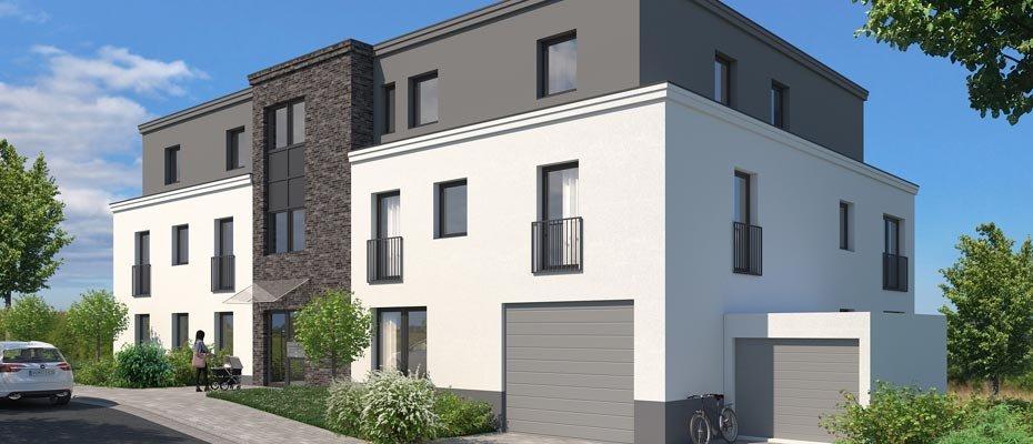Neubauprojekt: Auf der Forst 7 in Essen - Neubau von Eigentumswohnungen
