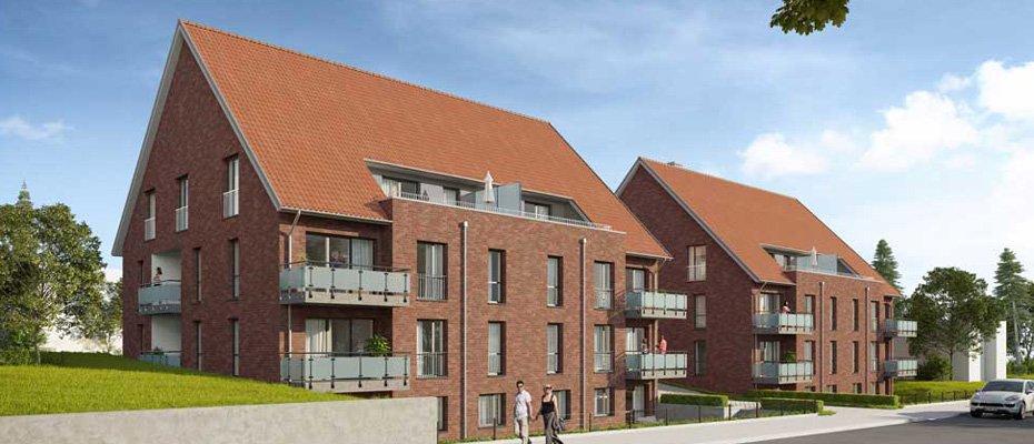 Neu: Elmschenhagener Allee 5+7 - Ihr komfortables Zuhause in Kiel - Neubau von 24 Eigentumswohnungen