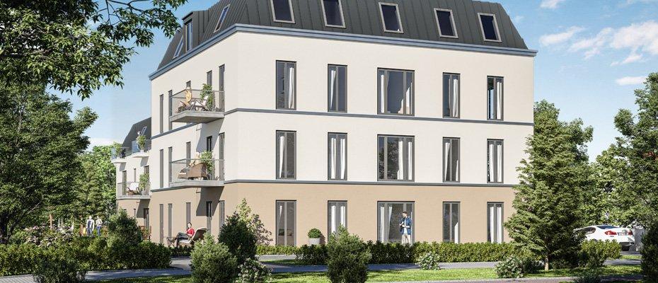 Neubauprojekt: Wohnen am Großen Garten in Dresden - Neubau von 17 Eigentumswohnungen