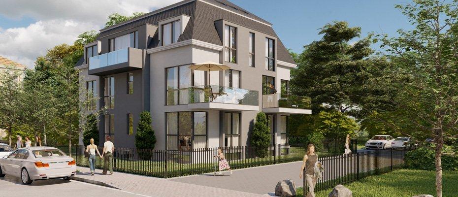 Neubauprojekt: Rädestraße 1 - Neubau von 6 Eigentumswohnungen