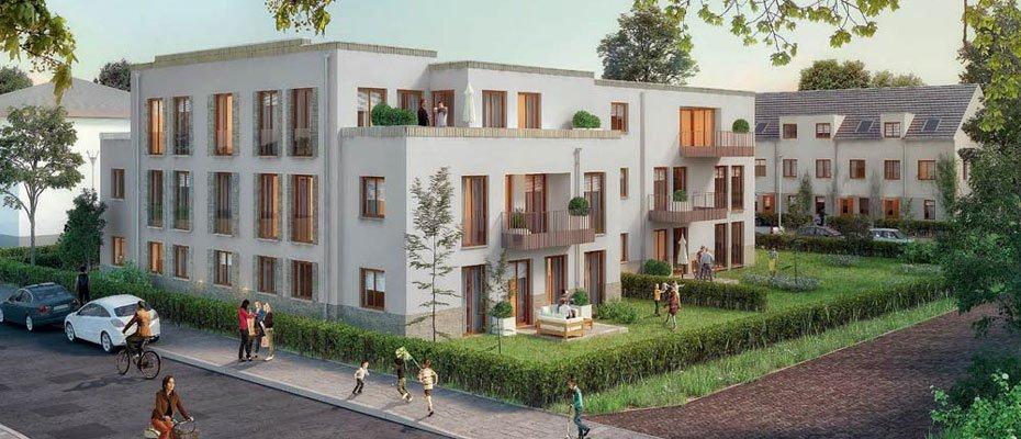 Neubauprojekt: Wohnen an der Elbaue in Übigau - Neubau von 10 Eigentumswohnungen und 4 Reihenhäusern