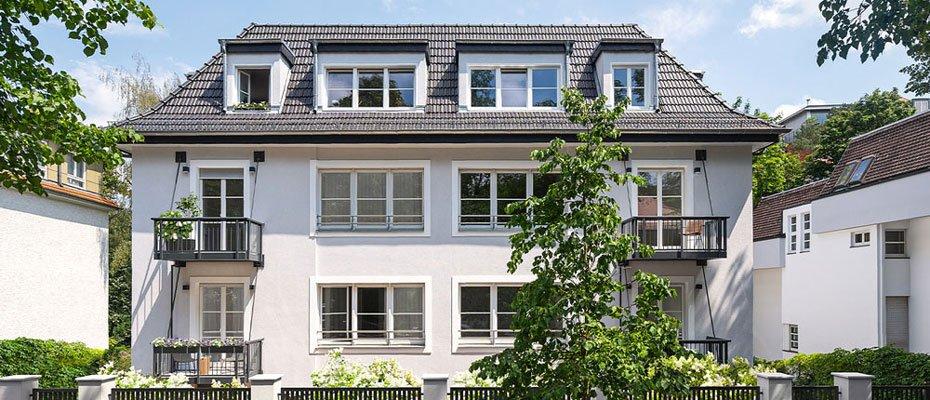 Sanierungsprojekt in Westend: Villa Württemberg - Sanierung von 16 Eigentumswohnungen