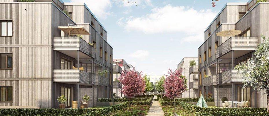 BUWOG Lotsenhäuser: Willkommen Familien - Neubau von 44 Eigentumswohnungen