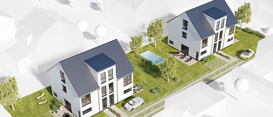 Neue Doppelhaushälften: HU150 BERLIN - Neubau von 4 Doppelhaushälften