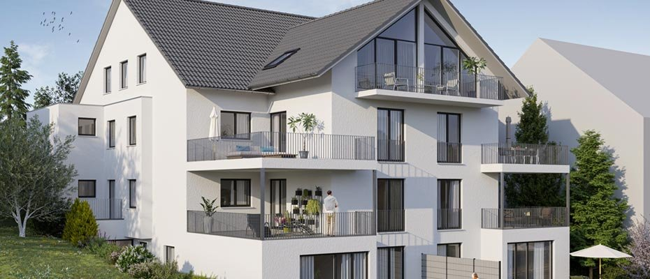 Ihr neues Zuhause: Neubauwohnungen Amselrain-Oberderdingen - Neubau von 8 Eigentumswohnungen