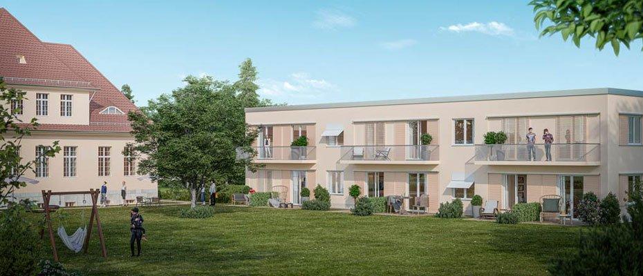 Neubauprojekt: LHQ Haus 37 in Buch - Neubau von 7 Eigentumswohnungen