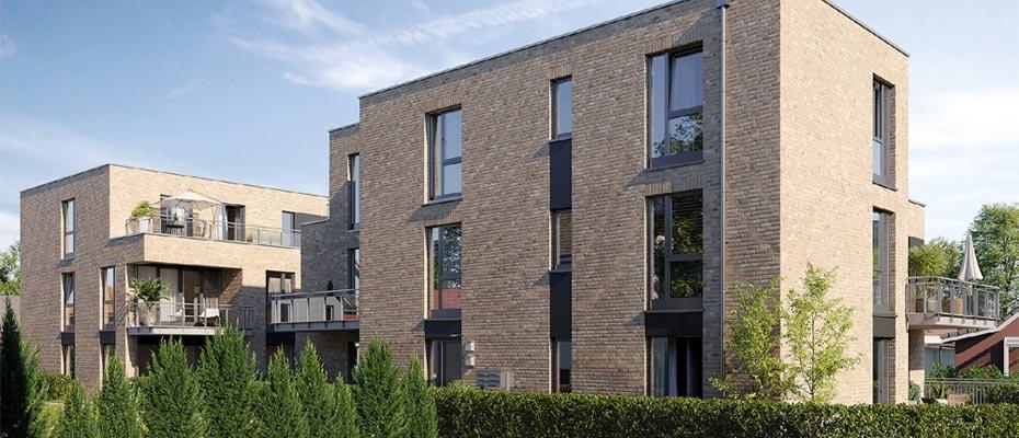 Neu in Quickborn: QUBO Pinneberger Kehre - Neubau von 10 Eigentumswohnungen