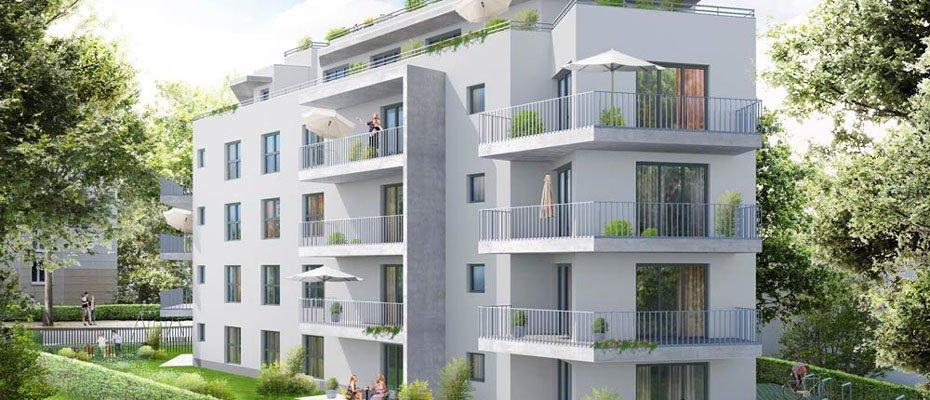 Neubauprojekt: Schloßallee 3a - Neubau von 18 Eigentumswohnungen