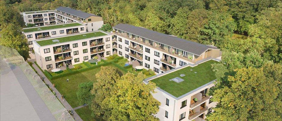 Neubauwohnungen am Schlosspark Biesdorf - Wildrose - Neubau von 116 Eigentumswohnungen