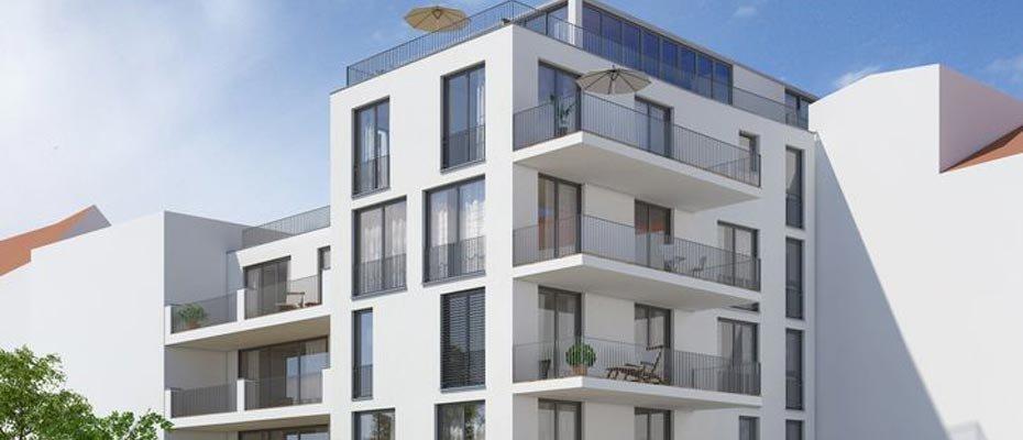 Kernsanierung: Am Vogeltor in der Augsburger Altstadt - Kernsanierung von 13 Eigentumswohnungen und einer Gewerbeeinheit