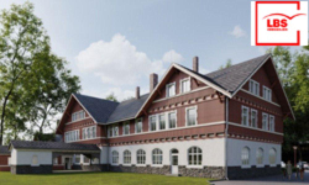 Denkmalschutzobjekt Alter Bahnhof Tharandt