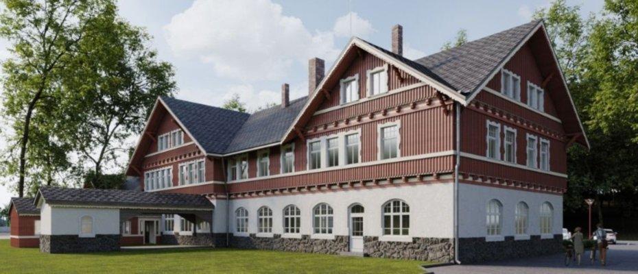 Neue Apartments im Denkmalschutzobjekt Alter Bahnhof Tharandt - Neubau von 35 Apartments