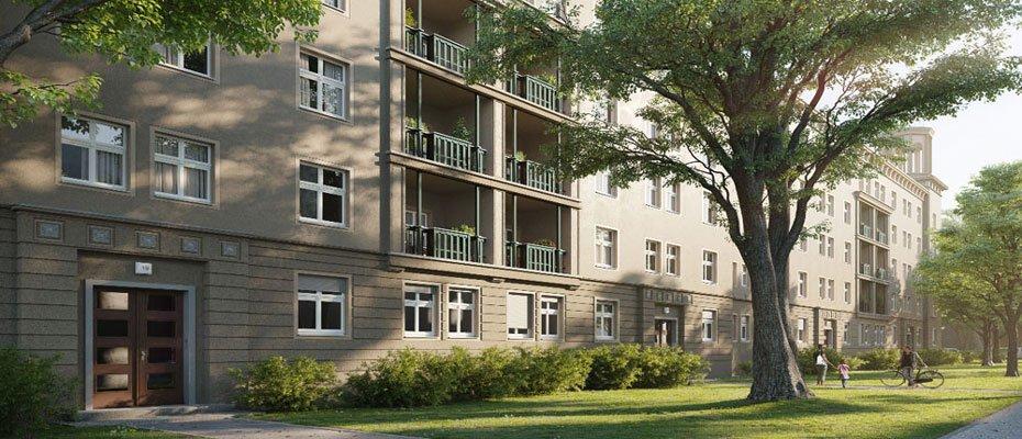 Eigentumswohnungen im Sanierungsprojekt 54 EAST - Sanierung von 64 Eigentumswohnungen