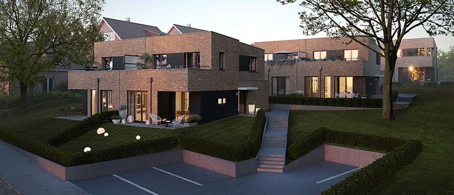 Neu: Ufersand in Wedel - Neubau von 6 Doppelhäusern und 2 Einfamilienhäusern