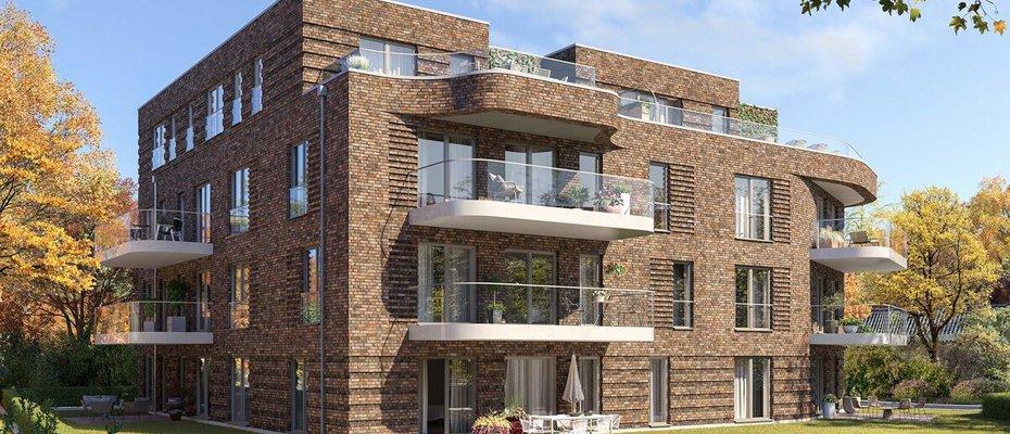 NEU: Zuhause im Hamburger Westen - EICHENPLATZ 7 - Neubau von 14 Eigentumswohnungen