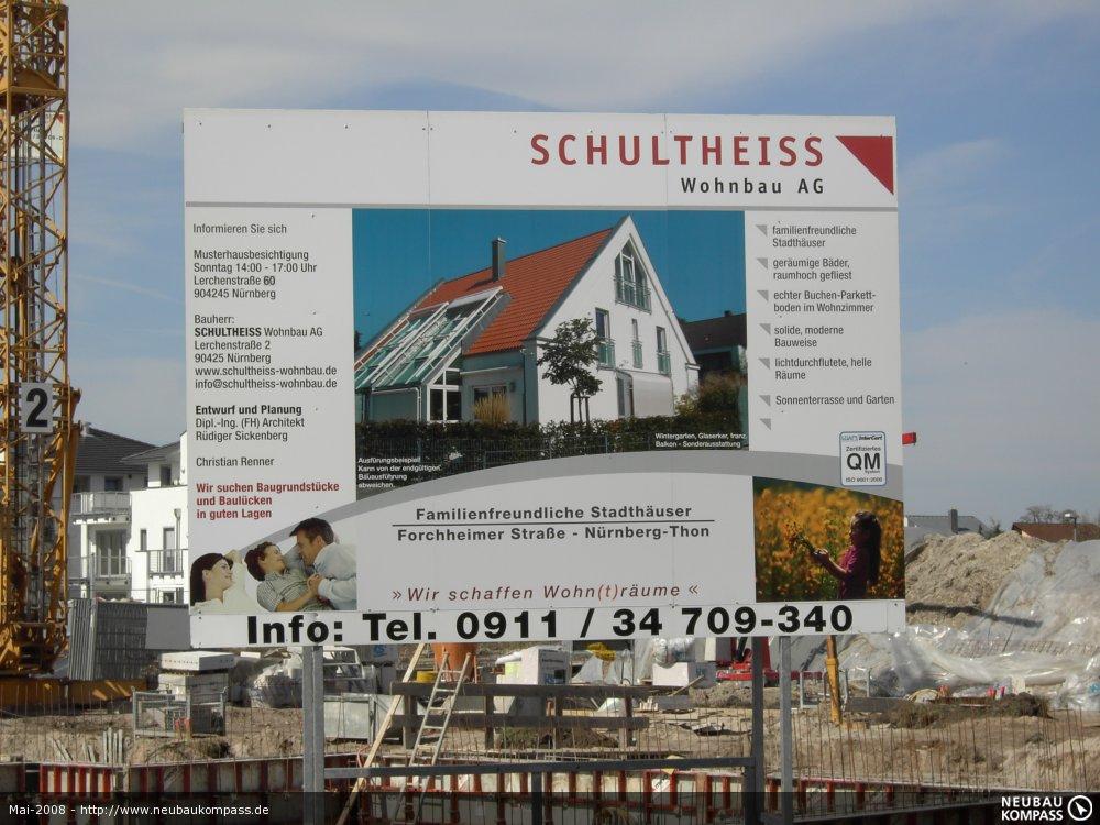 schultheiss wohnbau doppelhauser forchheimer straae na 1 4 rnberg thon neubau immobilien informationen ag bautrager nurnberg