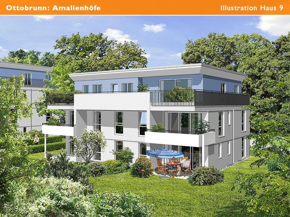 amalienh fe ottobrunn ottobrunn demos wohnbau neubau. Black Bedroom Furniture Sets. Home Design Ideas