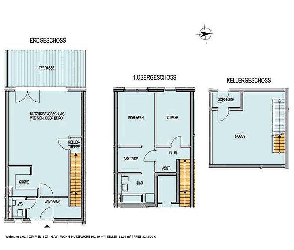 Grundrisse und Pläne vom Bauvorhaben Loft 31 size: 1000 x 850 post ID: 3 File size: 0 B