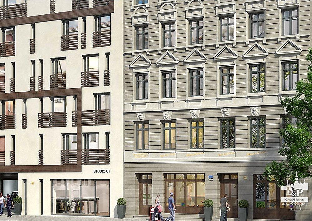 pappelallee 80 - berlin-prenzlauer berg - p&p gmbh berlin - neubau