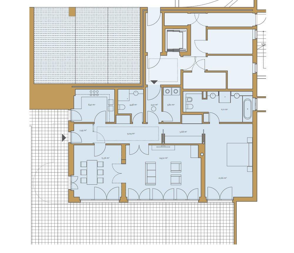 Grundrisse und Pläne vom Bauvorhaben Die Begas Villen size: 1000 x 859 post ID: 3 File size: 0 B